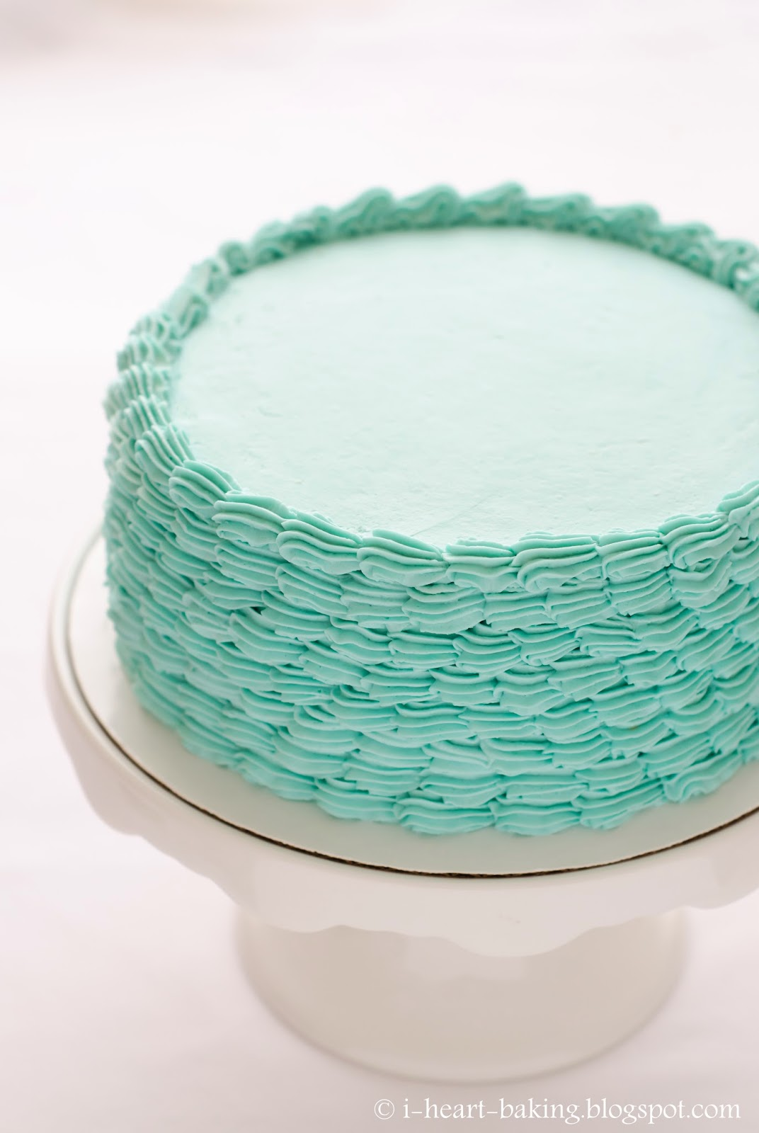 Blue Cake Decorating Sprinkles : i heart baking!: blue funfetti birthday cake with piped ...