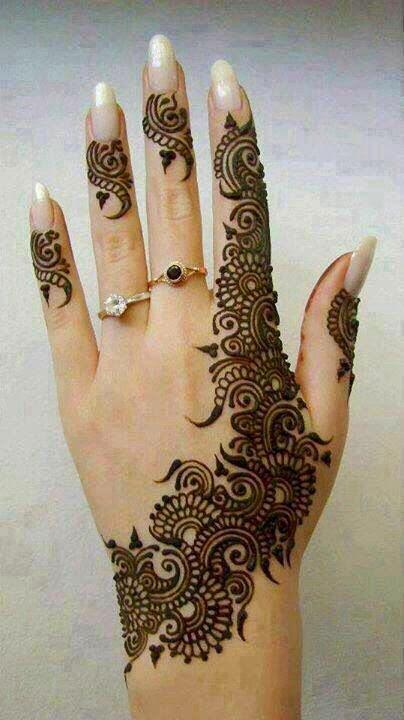 Latest Pakistani Mehndi  Henna Designs 20142015  B Amp G Fashion