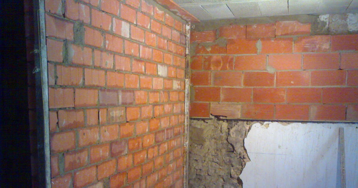 Paredes de ladrillo perforado quiero reformar mi casa - Quiero reformar mi casa ...