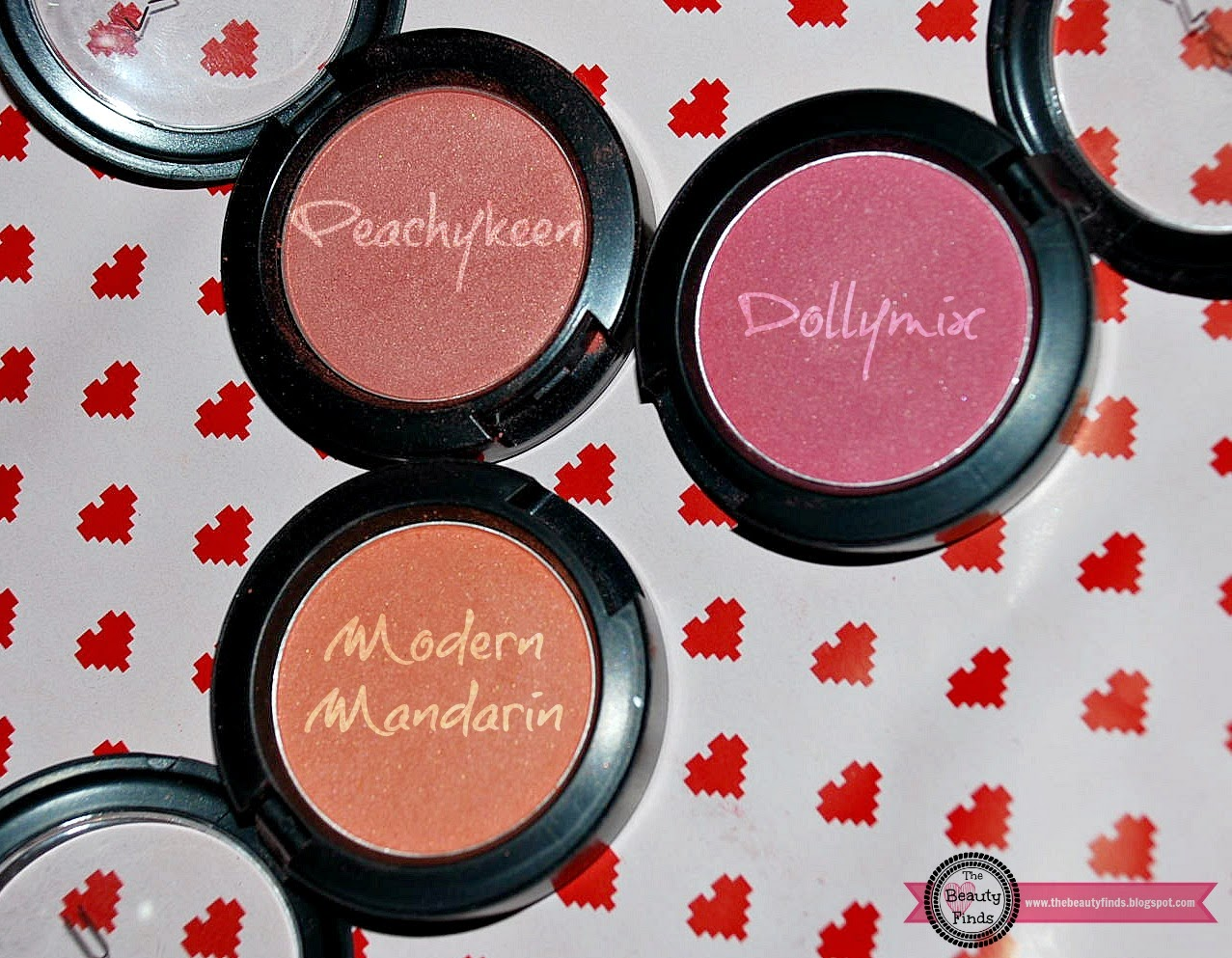 The Beauty Finds: MAC Blush Collection