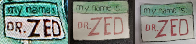my name is Dr. Zed
