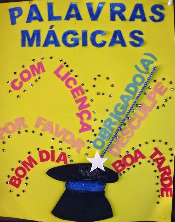 Conhecido Ler com prazer: Palavras Mágicas - Atividades. XD55