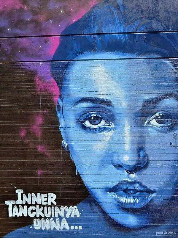 walls - blue