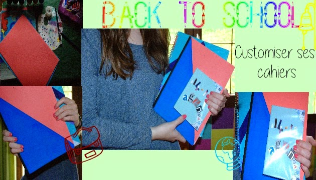[Back To School] (DIY) Customiser ses cahiers