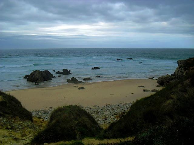 Playa de Canallave en Liencres
