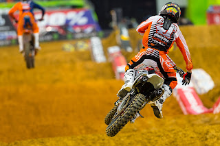 Trey Canard on his 2013 CRF450R