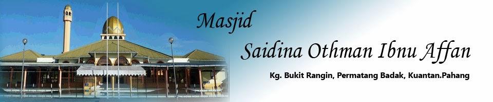 Masjid Bukit Rangin