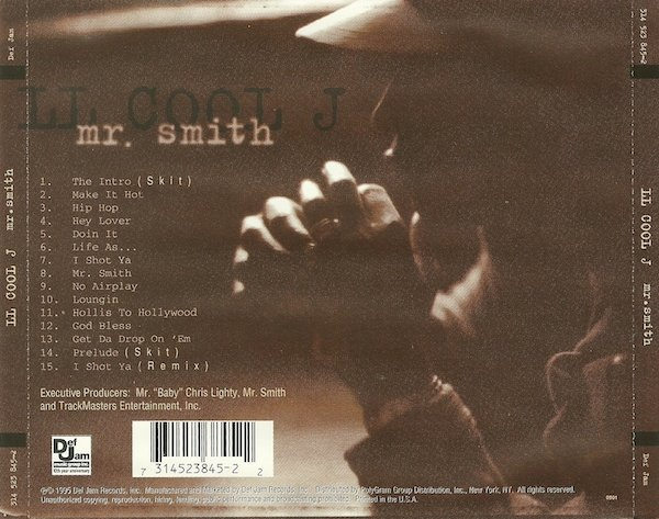 Music Crates: LL Cool J ‎– Mr. Smith 1995
