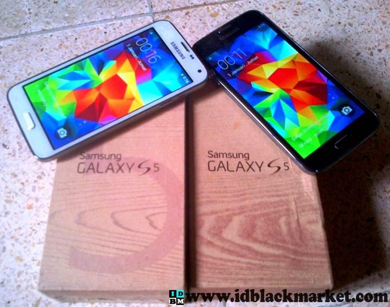 Samsung S5 Replika Hitam Putih