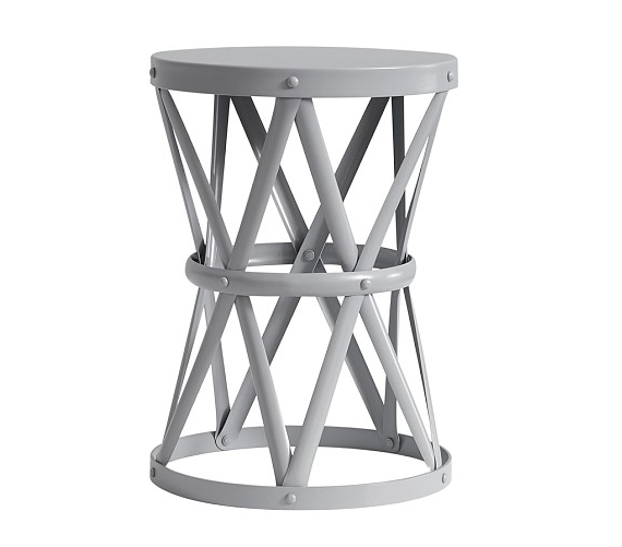 Pottery Barn Kids Jordan Metal Side Table