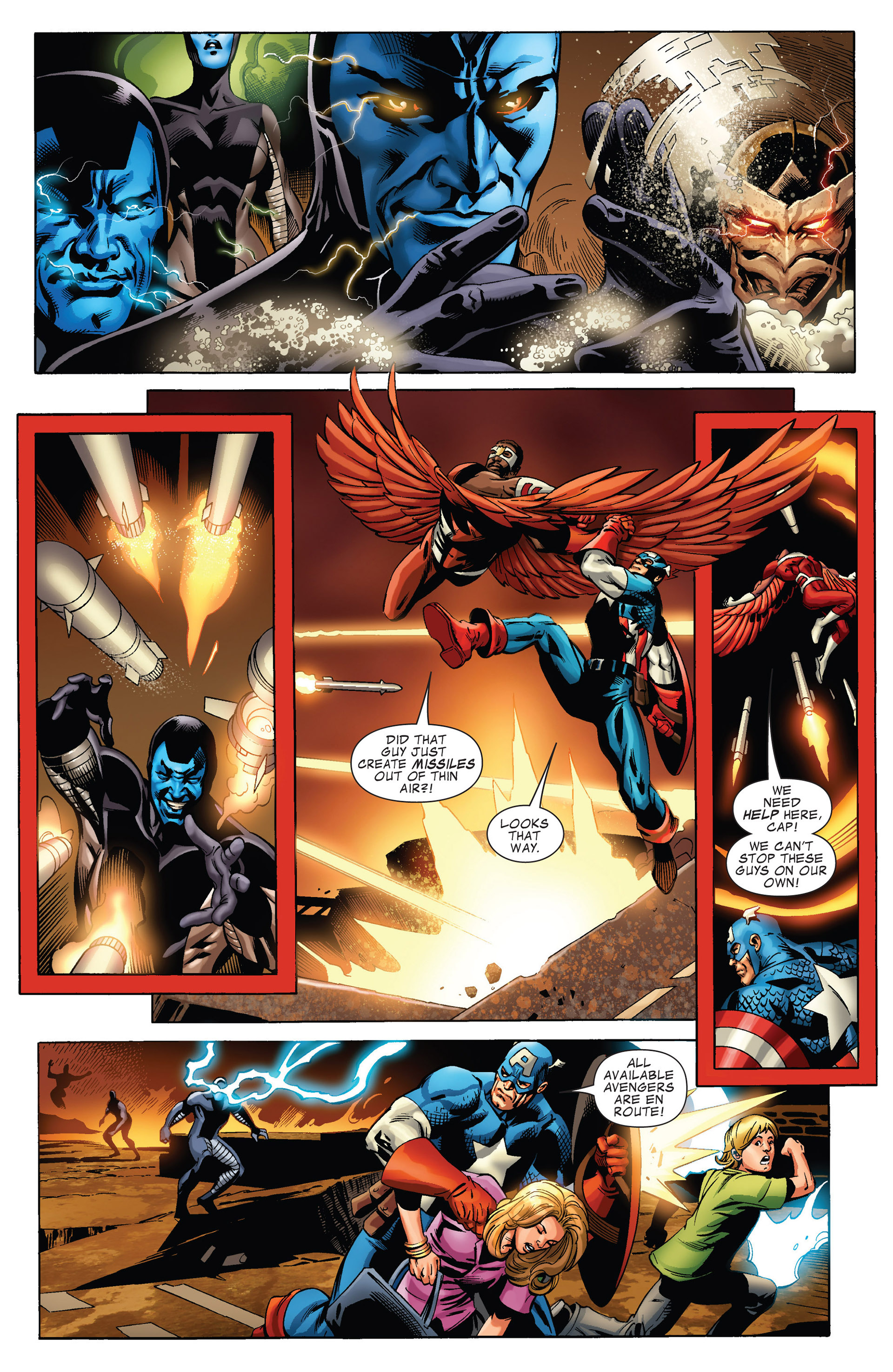 Captain America (2011) Issue #15 #15 - English 5