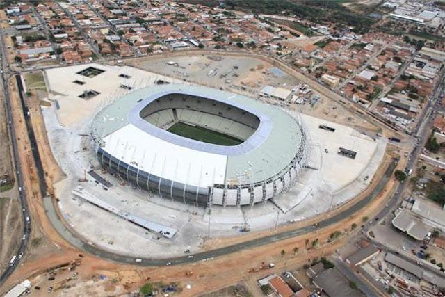 Inauguração do Castelão em Fortaleza terá a presença de Dilma Rousseff