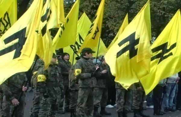 Affrontements en Ukraine : Ce qui est caché par les médias et les partis politiques pro-européens - Page 3 Svoboda-party-nazi4