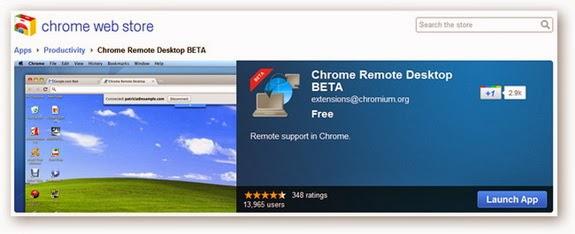 التحكم في الكمبيوتر عن بعد باستخدام متصفح Chrome