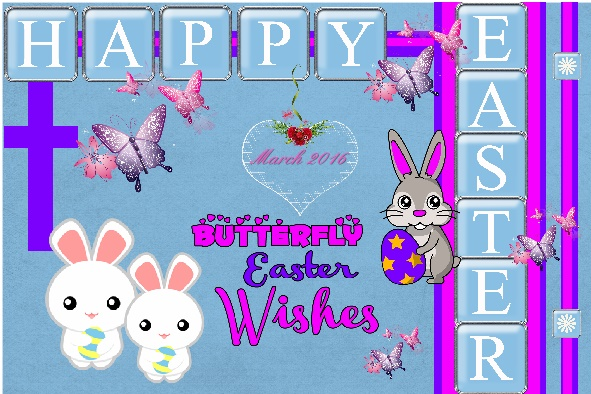 March 2016 - Happy Easter.