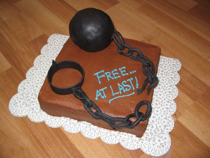 Торт на развод-фото