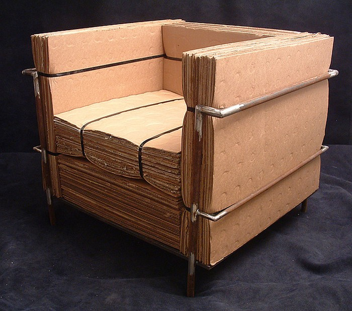 Muebles de cart n bastante ingeniosos quiero m s dise o - Muebles de carton ...