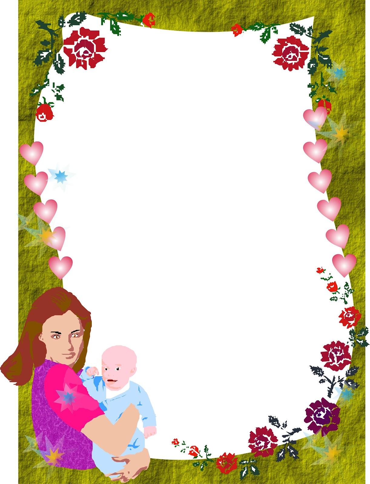 Bordes para decorar hojas word imagui kamistad celebrity for Dibujos para decorar
