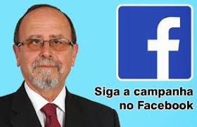 Visite a página da campanha no Facebook