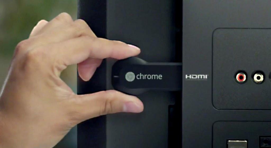 Chromecast conexión HDMI