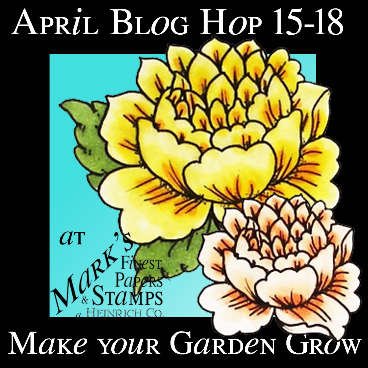Mark's Finest Papers April Blog Hop