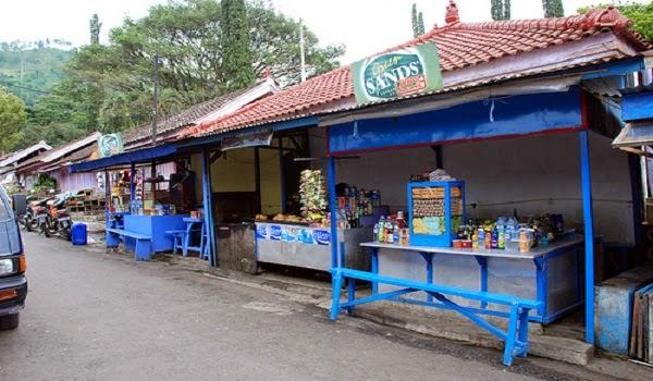 Stan Makanan di Songgoriti