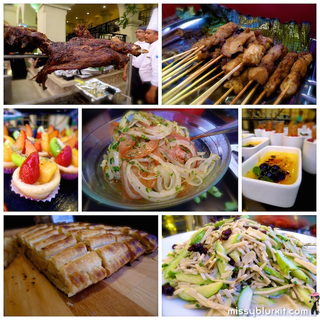 KLGCC, foodie trail, BBQ, buffet,