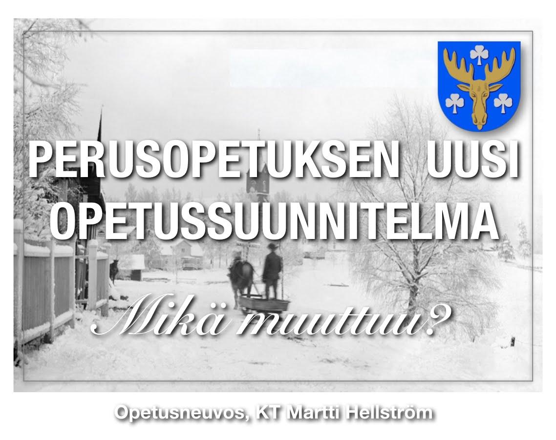 Opsista Mäntsälässä.