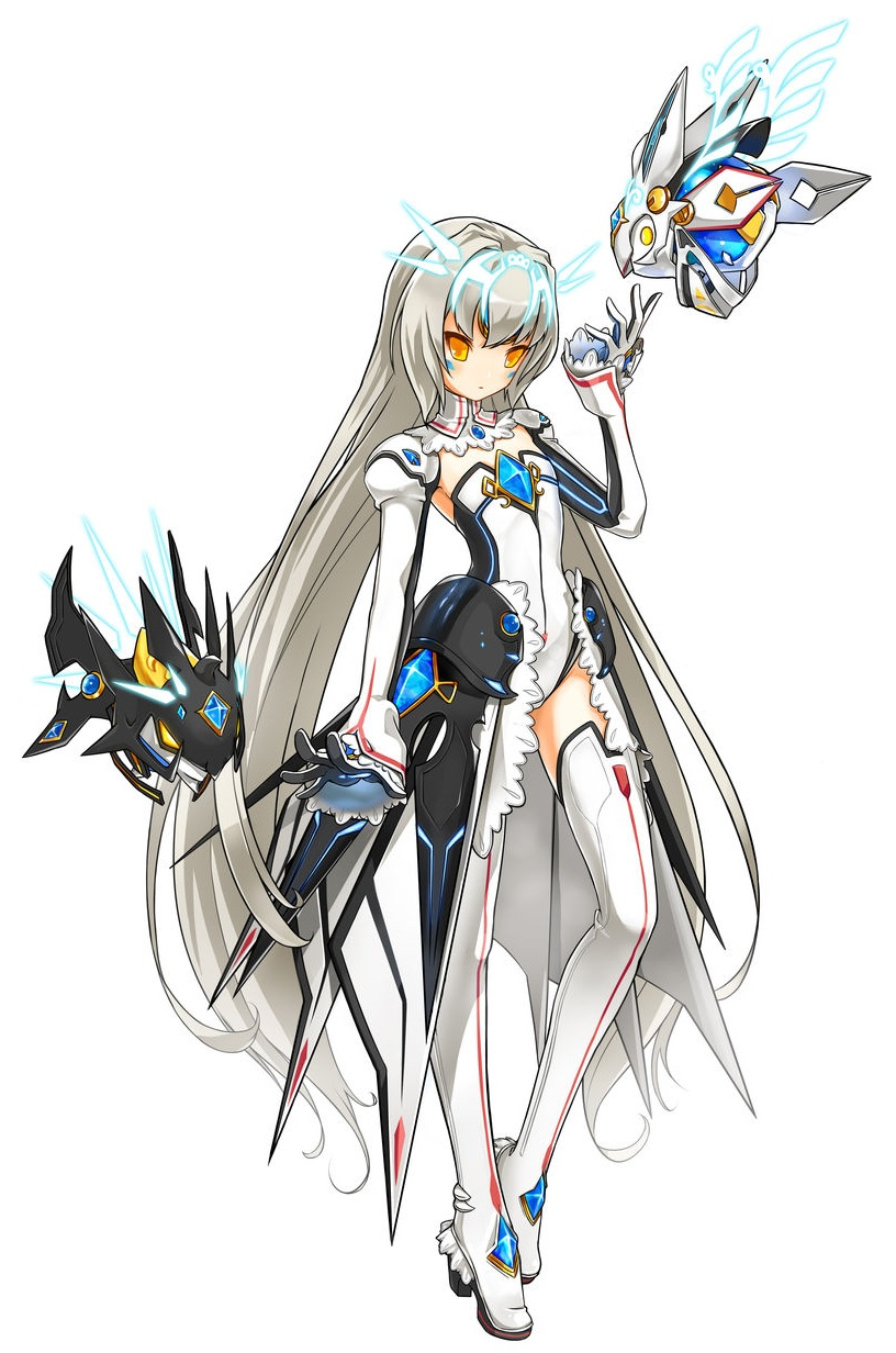 Anime Character Design Jobs : Kaminobenimizu online games elsword eve battle seraph