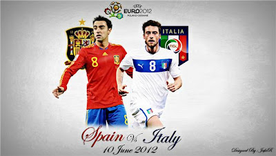 Skor Akhir Final Spanyol vs Italia Euro 2012