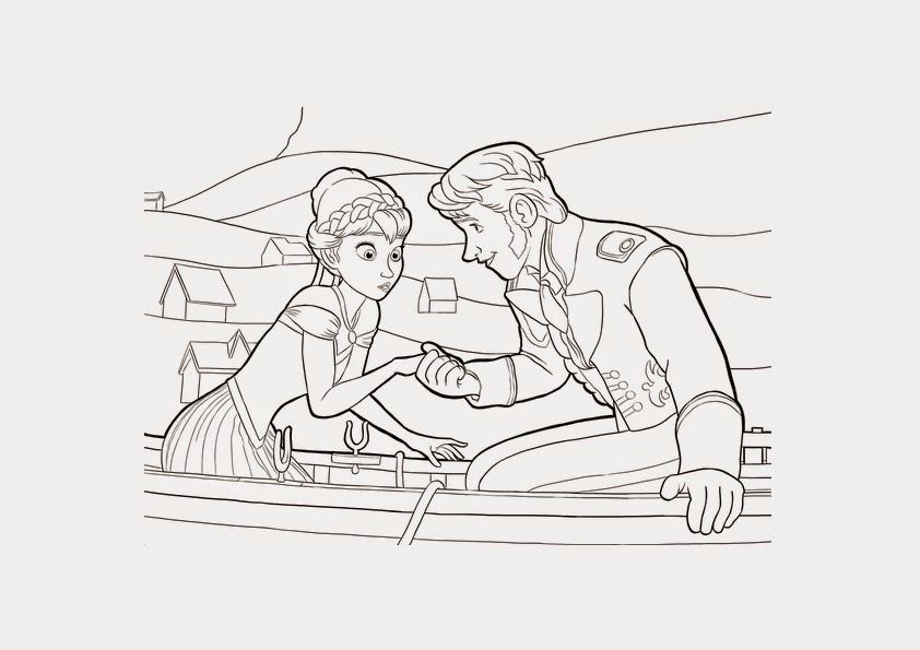 Frozen Coloring Pages Hans ~ Instant Knowledge