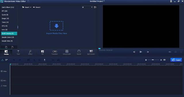 Wondershare Video Edtor Full Version 5.1.12 Free Download