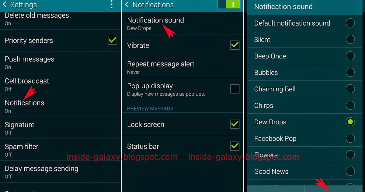 how to change voice message on samsung galaxy
