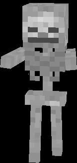 o melhor do minecraft esqueleto