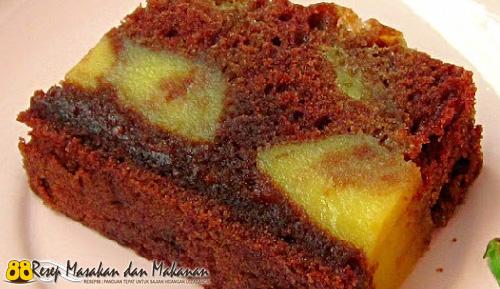 Kue Cake Coklat Keju