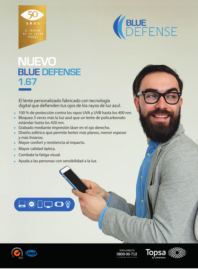 BLUE DEFENSE 1.67