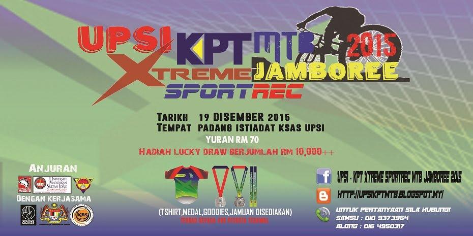 UPSI-KPT Xtreme SportRec MTB Jamboree 2015