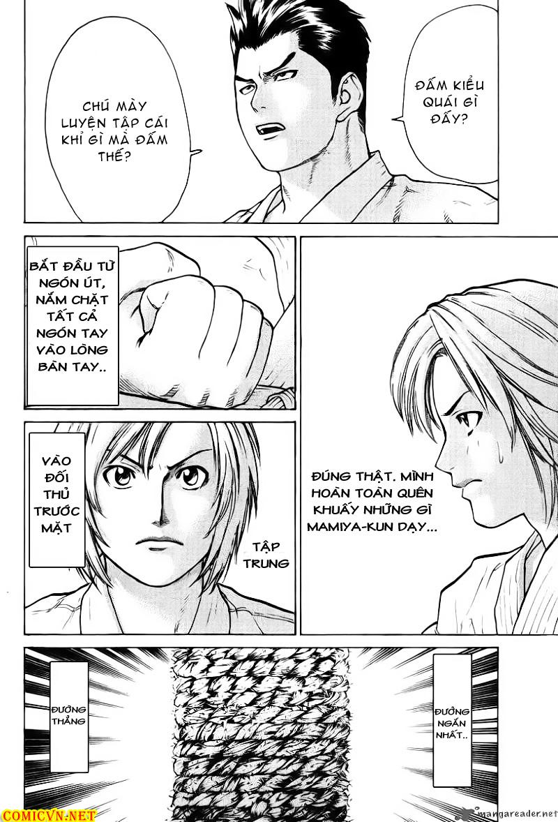 Karate Shoukoushi Kohinata Minoru chap 18 Trang 12