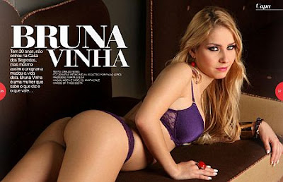 Bruna Vinha Hot Magazine