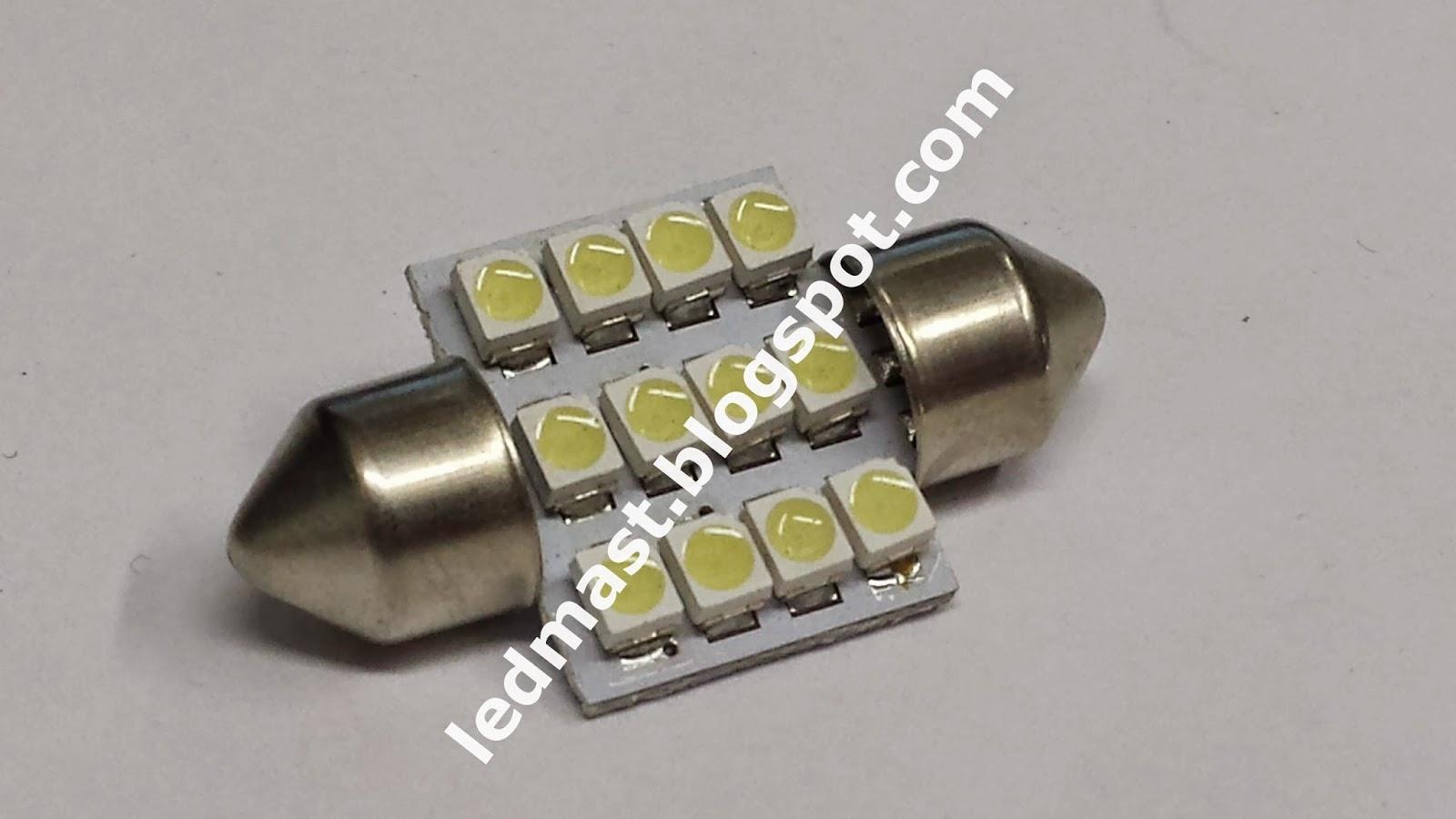 lampa led salonnaja c5w