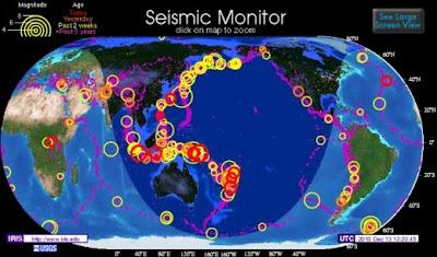 Temblores de Hoy en el Mundo