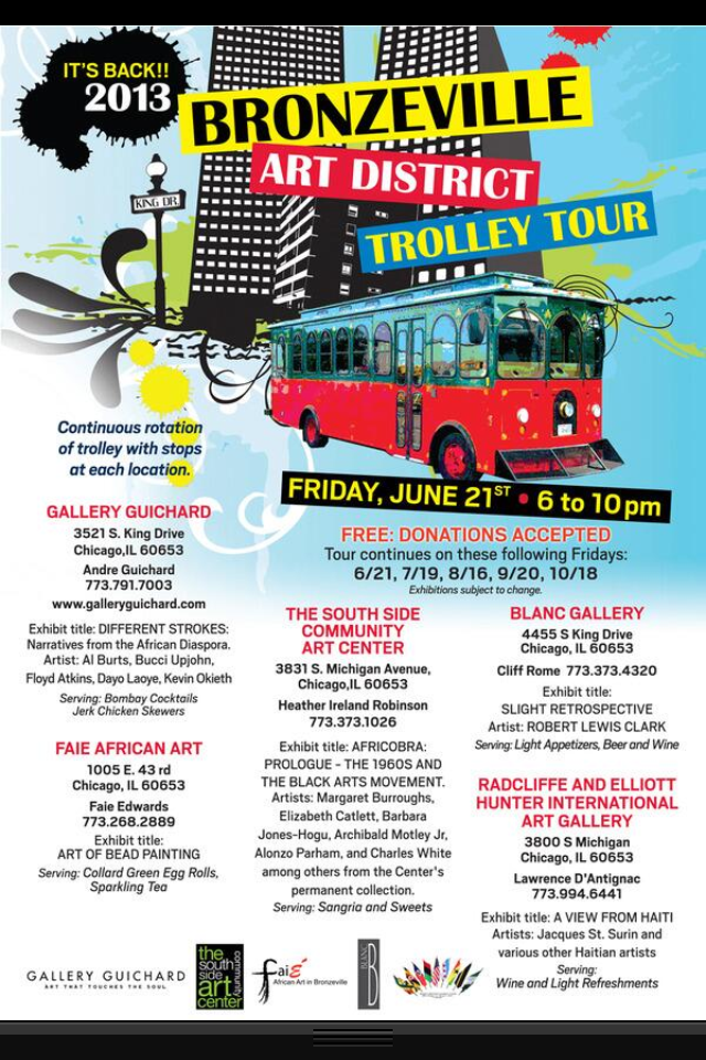 Bronzeville Art District Trolley Tour