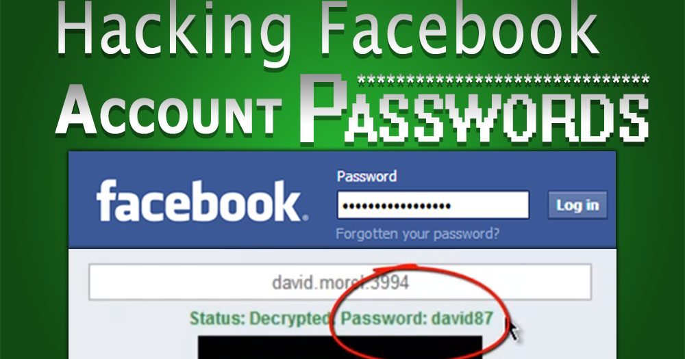 How to Hack Facebook Account - TECH GURU