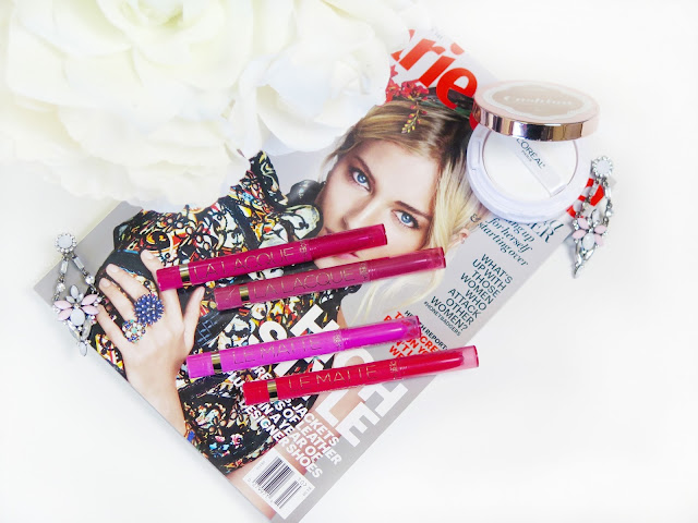 Review | L'oreal Le Matte & La Lacque Lip Colour Pencils | Bold Vibrant Shades In Two Finishes | labellesirene.ca