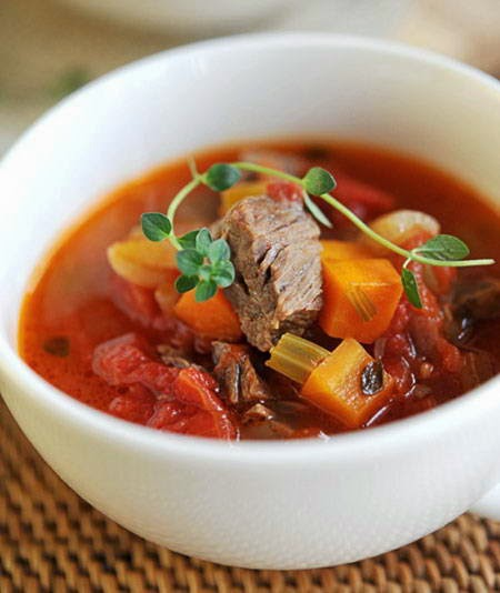 (Bò kho) - Stewed Beef with tomato