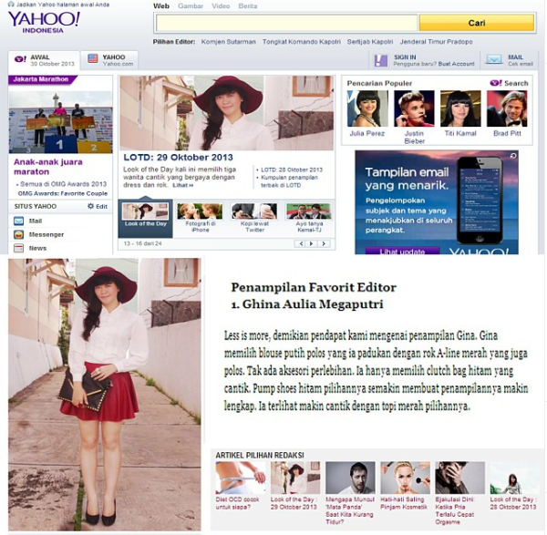 Featured on Yahoo Indonesia