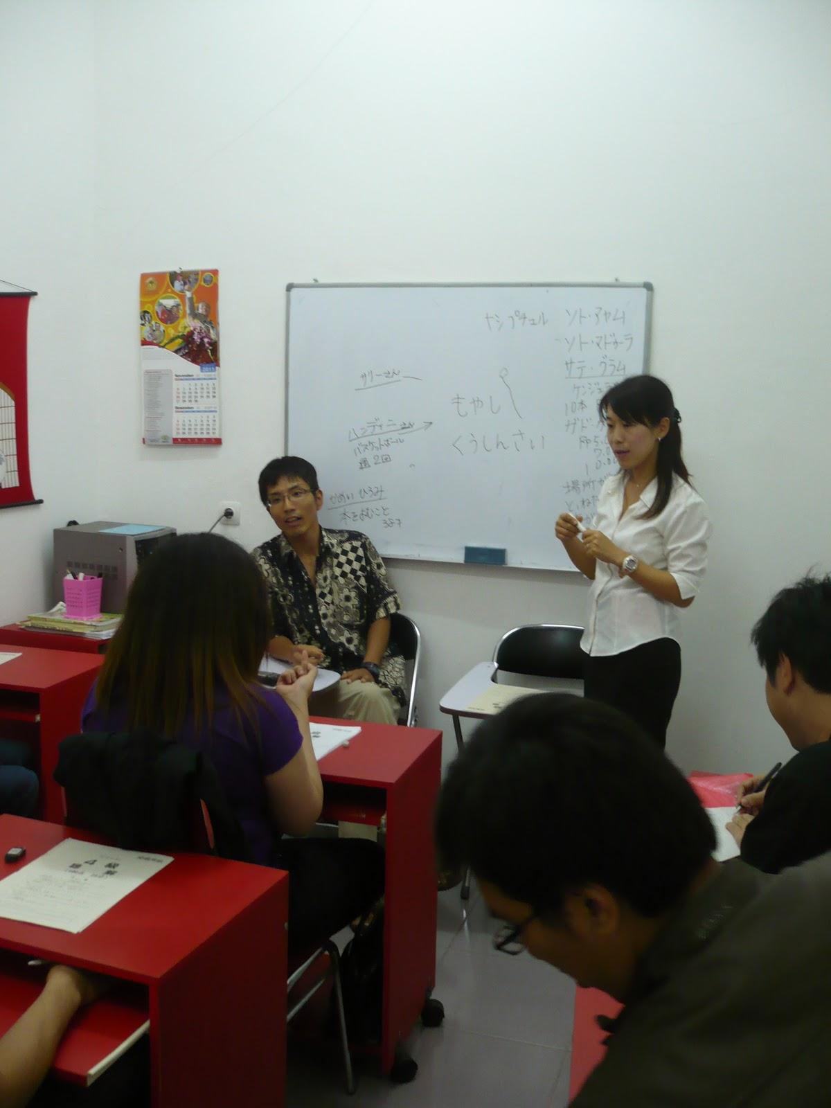 Shinju Kursus Bahasa Jepang Surabaya Indonesia Kegiatan Proses