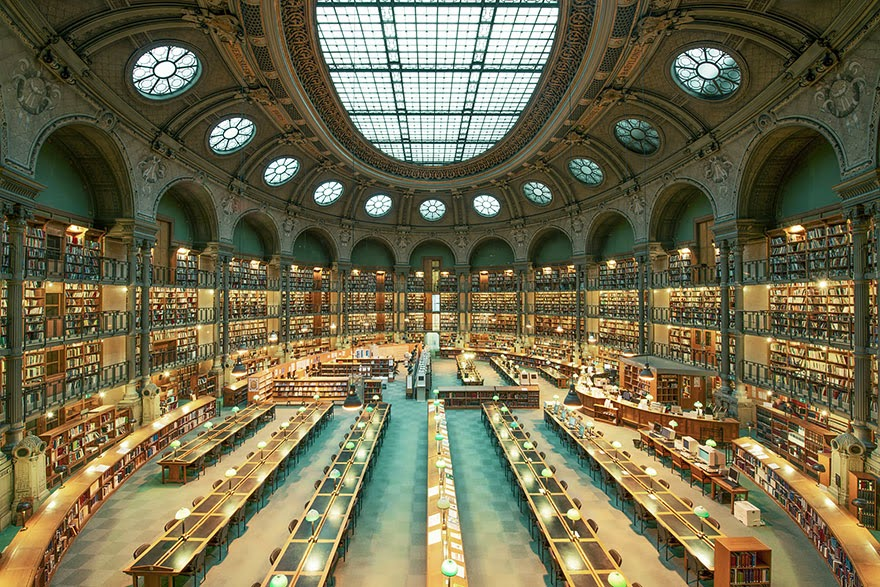 Bibliothèque Nationale de France, Paris - House Of Books: The Most Majestically Beautiful Libraries Around The World Photographed By Franck Bohbot