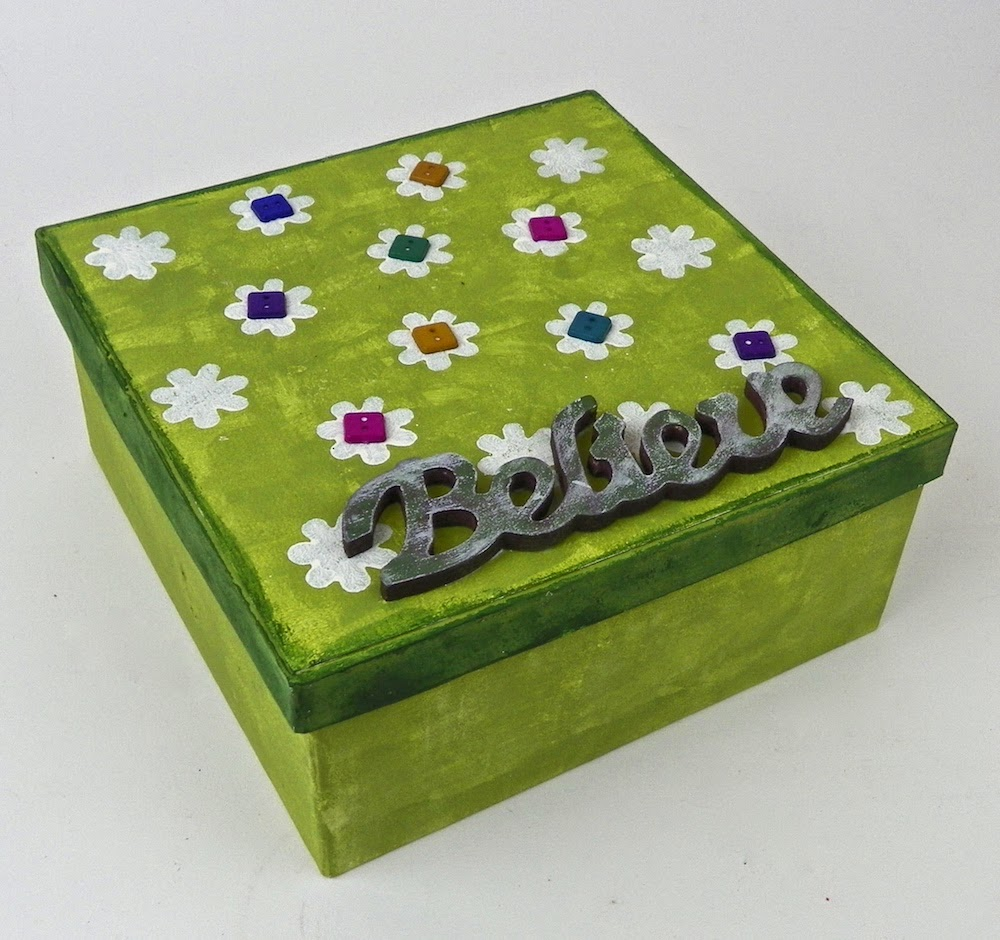 painted treasure box lisa fulmer