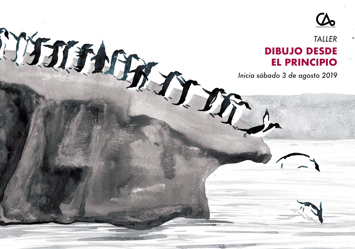 DIBUJO DESDE EL PRINCIPIO // 6 de agosto